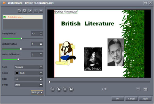 how to burn presentations to dvd