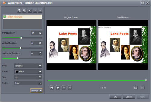 how to convert presentations to dvd