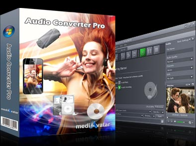 Click to view mediAvatar Audio Converter Pro screenshots