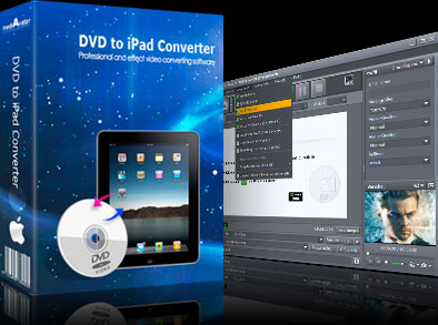 Rip and convert DVD to iPad movies on Mac.
