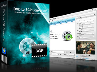 mediAvatar DVD to 3GP Converter