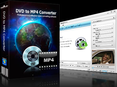 mediAvatar DVD to MP4 Converter Screen shot