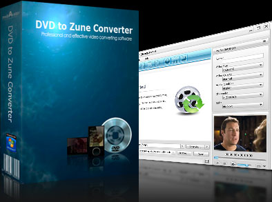 mediAvatar DVD to Zune Converter full screenshot