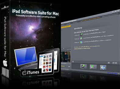 DVD/video/music to iPad transfer, iPad backup