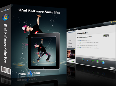 mediAvatar iPad Software Suite Pro screenshot