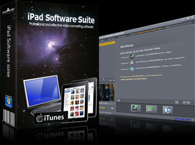 mediAvatar iPad Software Suite screenshots
