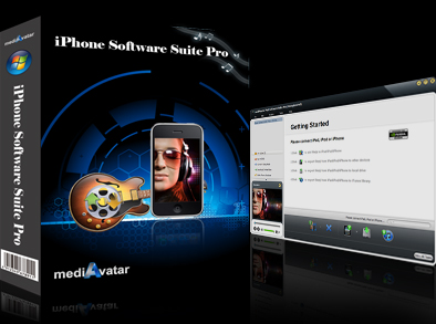 mediAvatar iPhone Software Suite Pro 4.0.0.0118