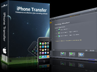 mediAvatar iPhone to Mac Transfer Screen shot