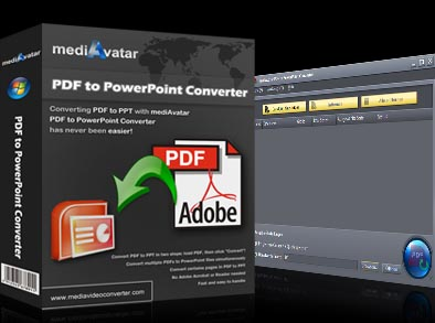 Click to view mediAvatar PDF to PowerPoint Converter screenshots
