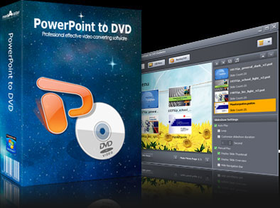 mediAvatar PowerPoint to DVD Screen shot