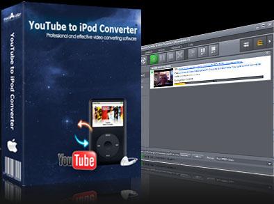 mediAvatar YouTube to iPod Converter for Mac Screen shot