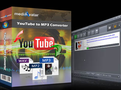 mediAvatar YouTube to MP3 Converter Screen shot