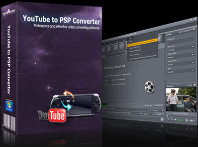 mediAvatar YouTube to PSP Converter Screen shot